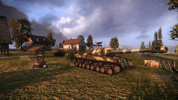 Tankok világa prémium páncélos-mérkőzés