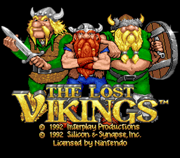 Lost Vikings Retro