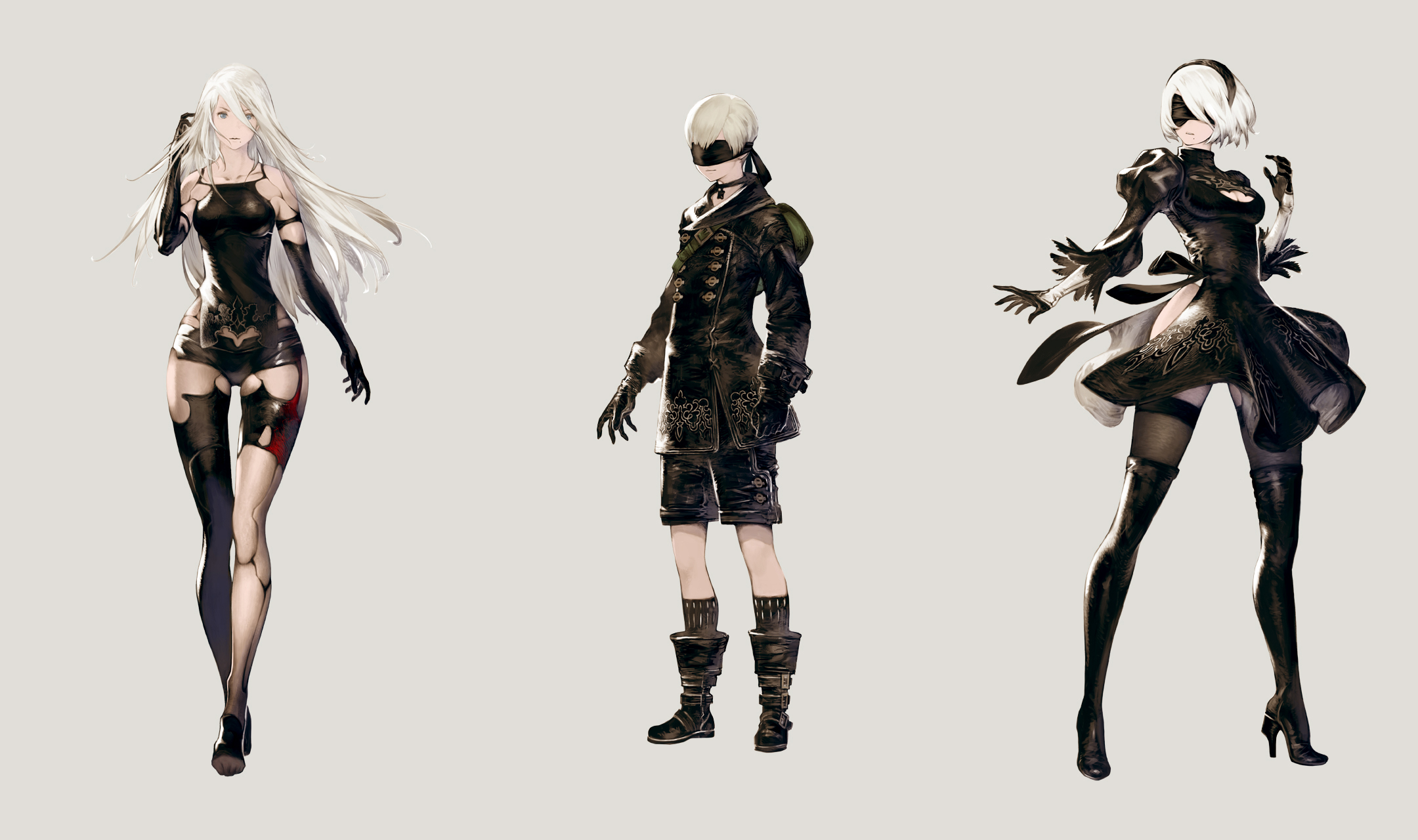 Character Design Nier Automata : Nier automata képcsokor érkezett gamepod hu ps hír