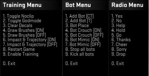 Cs go match konzol parancsok
