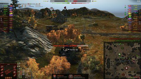 a tankok világa azonos szintű mérkőzés